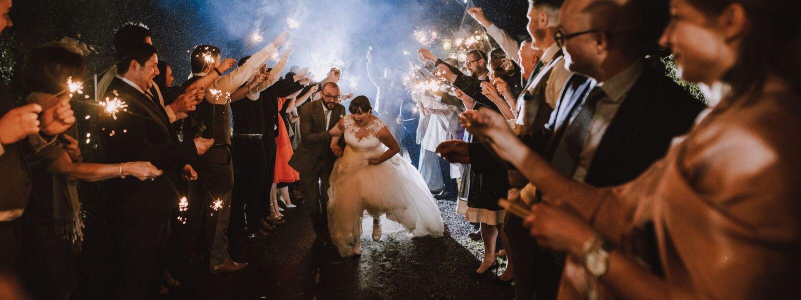pencoed house estate wedding day